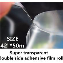 42in супер прозрачный двусторонний боковой клейкой пленки для лентикулярного использования
