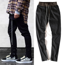 blackicon chinos joggers korean mens european urban clothing black kanye west