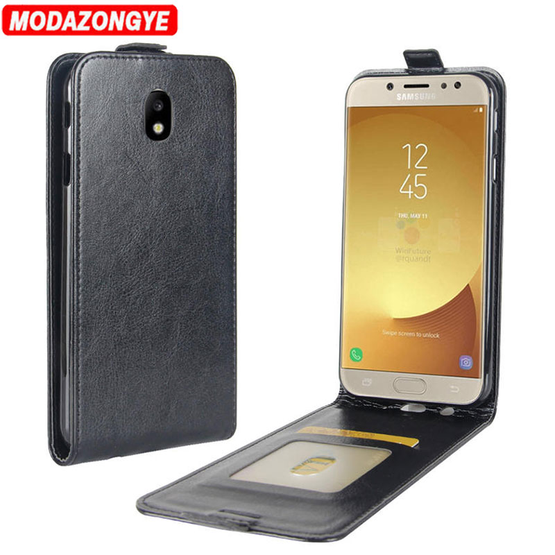 Galleria fotografica For Samsung Galaxy J3 2017 Case Samsung Galaxy J3 2017 J330 Cover PU Leather Phone Case For Samsung Galaxy J3 2017 J330F Flip