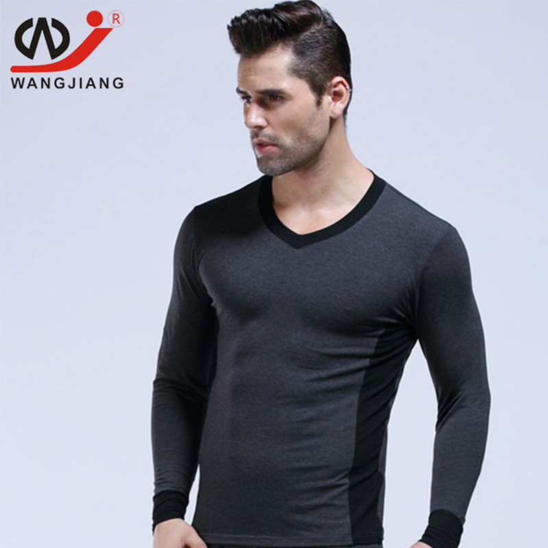 Sexy Men Long Sleeve Tshirt Homme Brand Clothing Rashguard Fitness Clothes Sport Cotton compression