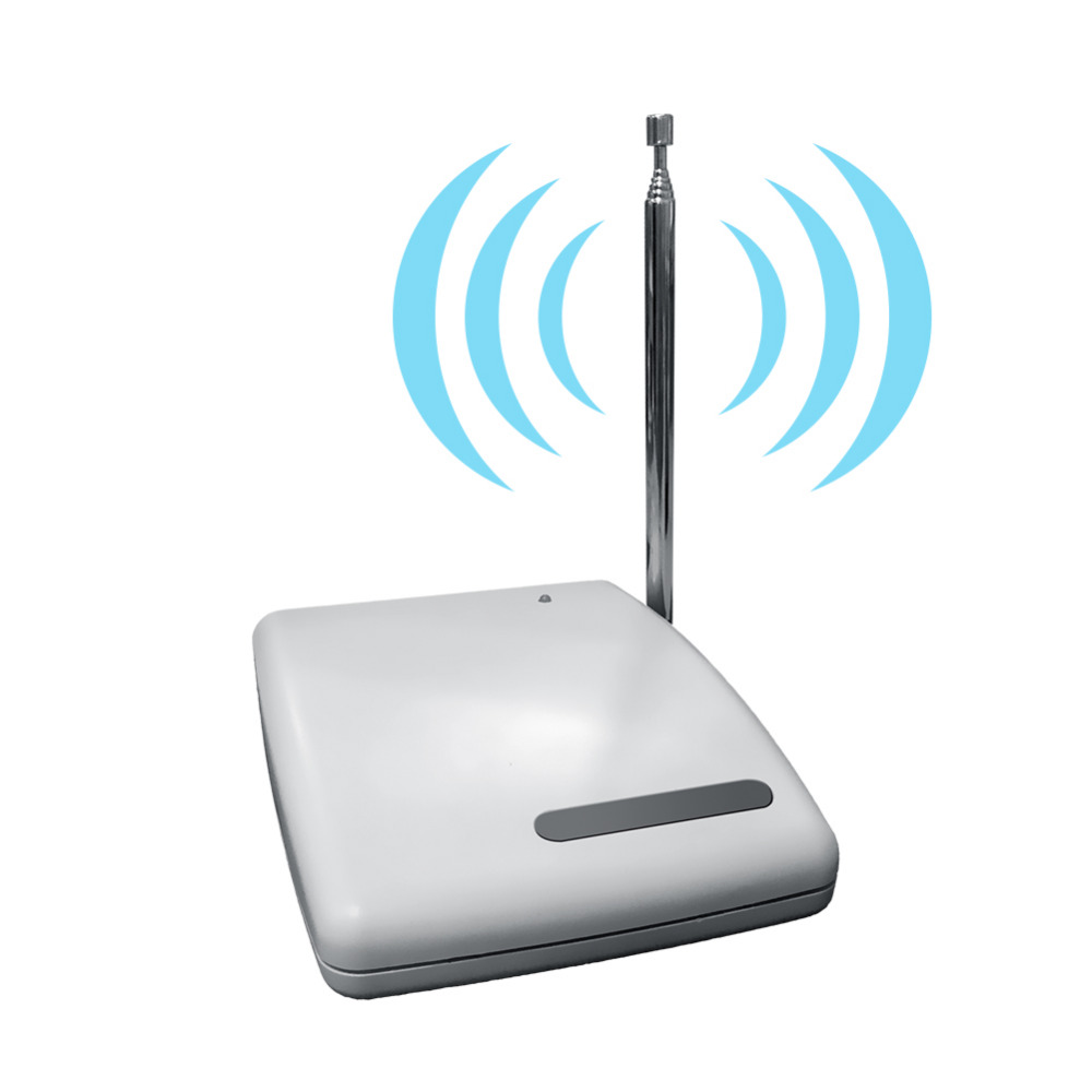 Wolf-Guard Wireless Signal Repeater Easy Use For Home Alarm Security Systems Panel/Sensor 433MHZ Range Extender 1000M