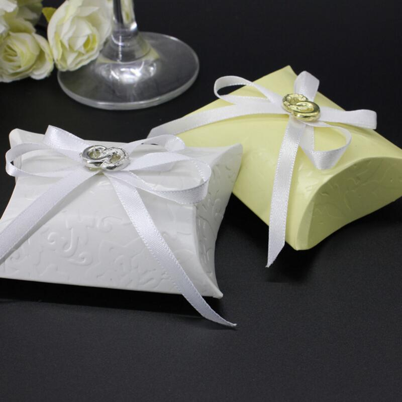 Wedding Gift Box For Guests : Candy Box Wedding Gifts for Guests Candy Gift Packaging Boxes Favor ...