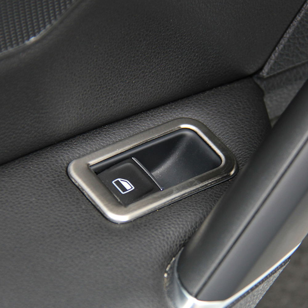 Image 5 - Car Accessories Stainless Steel Car Interior Decoration Door Window Switch Cover Trims For Volkswagen VW Golf 7 MK7-in Car Stickers from Automobiles & Motorcycles
