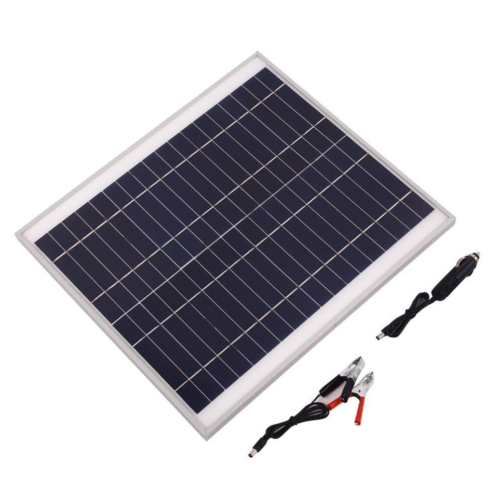 Le vrai panneau solaire flexible de 20 w lambrisse le module de cellules solaires DC pour le yacht de voiture lumière LED le chargeur extérieur de bateau de batterie de RV 12 v