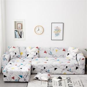 Image 3 - Parkshin Fashion Slipcover Non slip Elastic Sofa Covers Polyester Four Season All inclusive Stretch Sofa Cushion 1/2/3/4 seater