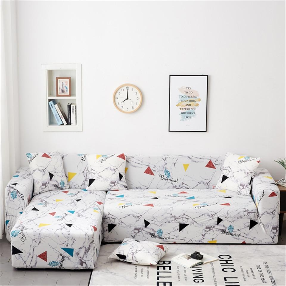 Image 3 - Parkshin геометрический чехол покрывала для дивана стрейч протектор мебели полиэстер на двоих чехол для дивана диван Полотенца 1/2/3/4 seater-in Покрывало на диван from Дом и животные