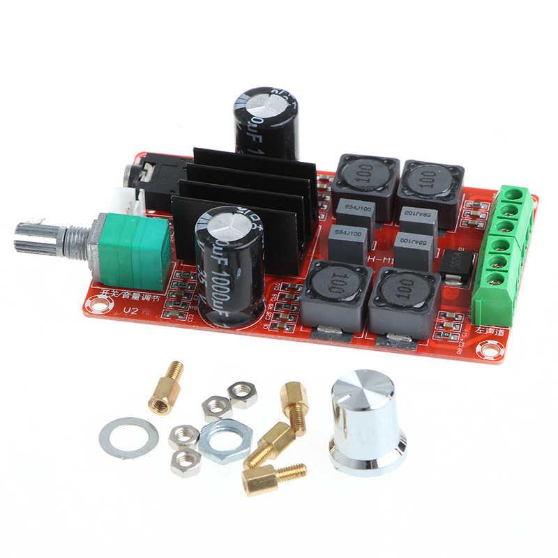 XHM189 2*50 Вт TPA3116D2 2-канала высокого класса цифровой усилитель доска 24 В стерео