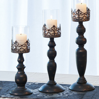 Candle Power Dinner Props Romantic Wedding Candlesticks Restoring Ancient Ways Furnishing Articles Table Artical Candle Holders