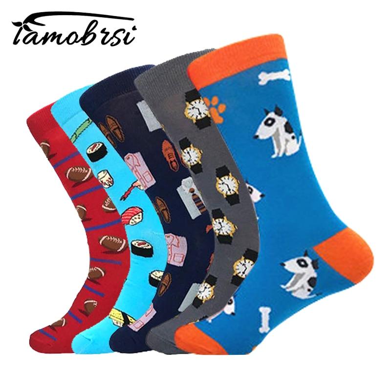 2018 Bull Terrier Rugby Gentleman Clothing Socks Short Funny Sushi Cotton Male Socks Women Winter Men Unisex Happy Socks Female