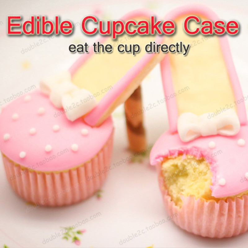 Edible Cupcake Wrappers6pcs Wafter Paper Caseeat The Cup Directlyidea Cupedible Decoration In Other Cake Tools From Home