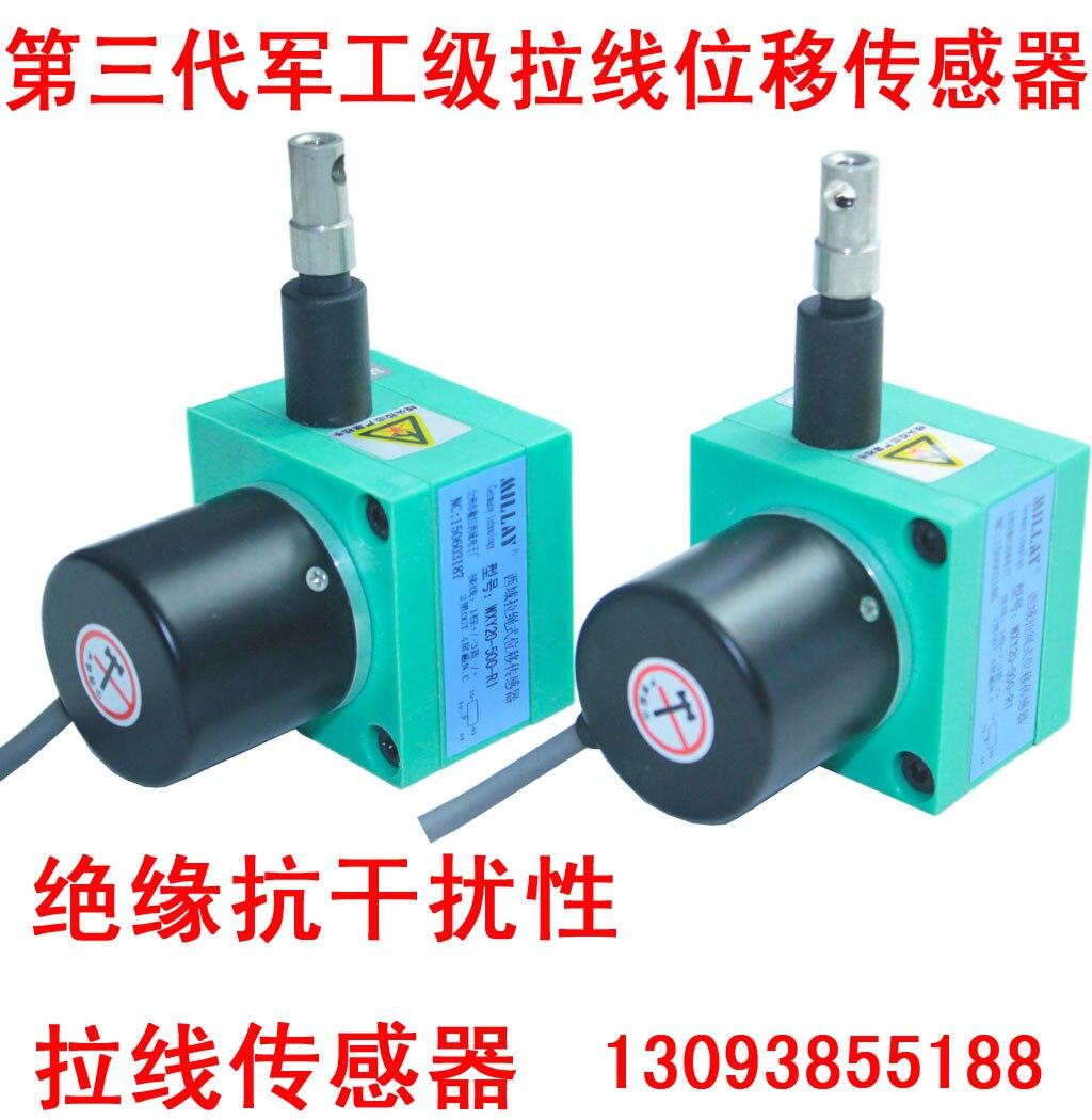 Linear Displacement Sensor, Pull Sensor, Pull Rope Encoder, Pull Line Sensor linear displacement sensor pulling wire encoder pulling rope encoder pulling rope sensor