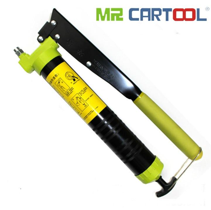 Hantuooil Gun Pistolet À Graisse manuel Printemps huile haute pression injection Gun lourd machines pelle Accessoires HT-616
