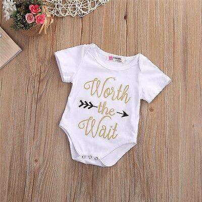 2017 New Cute Newborn Baby Bodysuit Cotton Boys Girls Jumpsuit Kids Clothes Outfit Set