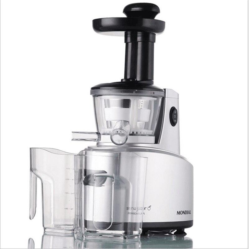 220V/250W Low Speed Mute Juicer 68Rpm Multifunction Fruit Vegetable Milkshake Cooking Machine DIY Juicer Blender 900w fruit mixer machine vegetable superfood blender processor juicer extractor free shipping