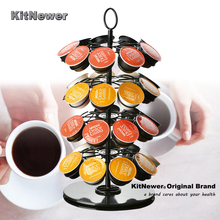 Revolving Rotating 36 Capsule Coffee Pod Holder