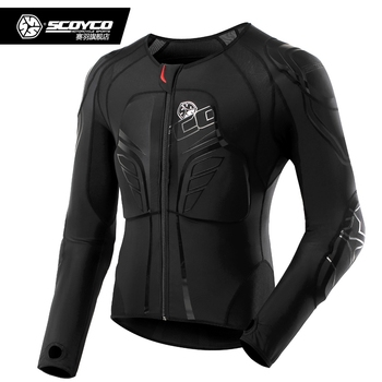 Scoyco AM03 Breathable Motorcycle Jacket Anti-wind Men's Racing Motocross Jackets Moto Armor Gear Motorbike Protective Clothing