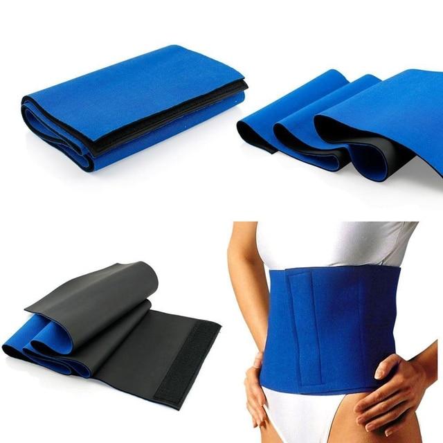1Pcs Waist Trimmer Belt for Women Men, Sweat Workout Fitness Waist Trainer Weight Loss Adjustable Belt Belly Body Exercise Wrap 5