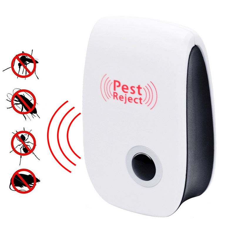 Enhanced Version Mosquito Killer Ultrasonic Pest Reject For Rat Mouse Pest Repellent Household Cockroach Pest Repeller