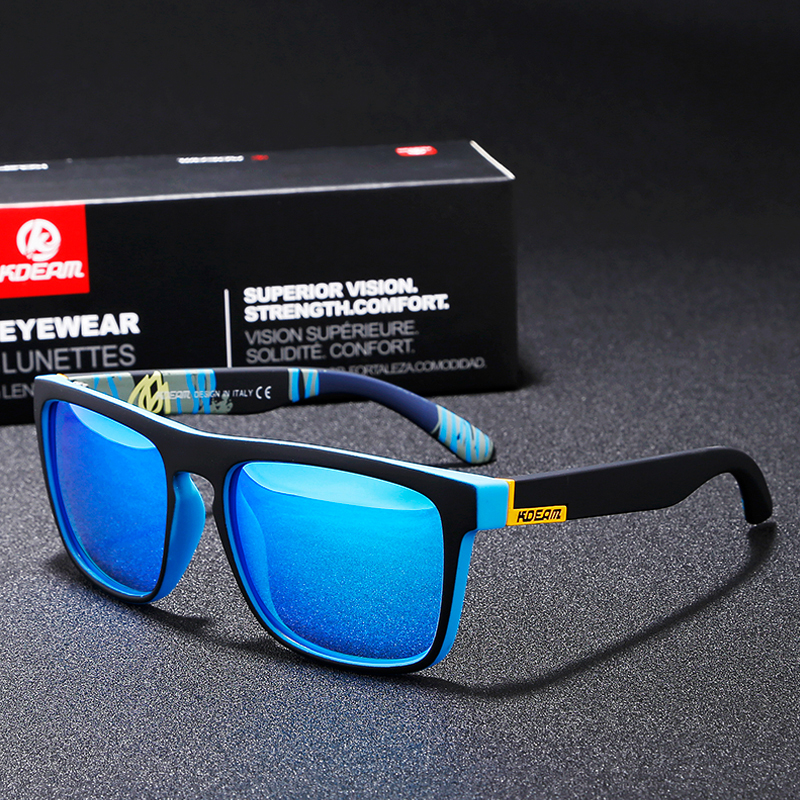 16Pcs lot Wholesale KDEAM 2019 Polarized Sunglass Men Women Brand Designer Sport Sun Glasses UV400 Driving
