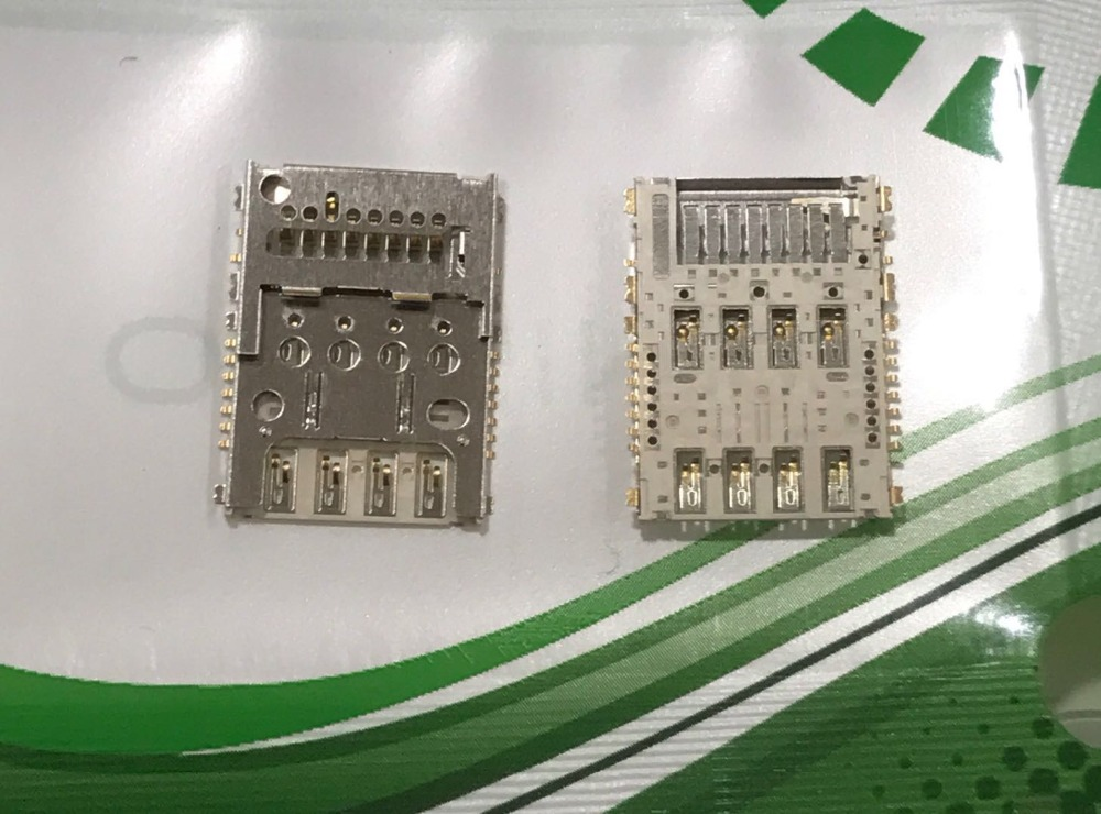 US $6 88 |10pcs Original good quality Suitable for Nokia 3310 dual sim card  3310 card seat motherboard SIM card slot-in Mobile Phone SIM Cards from