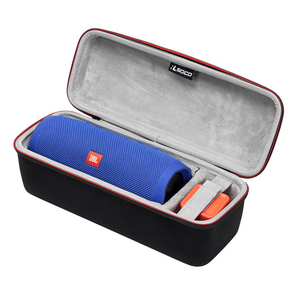 все цены на Newest PU EVA Hard Carrying Protective Speaker Box Pouch Cover Bag Case For JBL Charge 3 Bluetooth Speaker-Fit for Plug&Cables