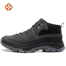SALAMAN Mens Winter Outdoor Hiking Trekking Shoes Boots Sneakers For Men Leather Tourism Climbing Mountain Man