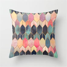 Nordic Style Factory Direct Sales Irregular Pattern Pillow Cases Home Decor Vintage Geometric Cushion Covers 40x40cm pillowcase