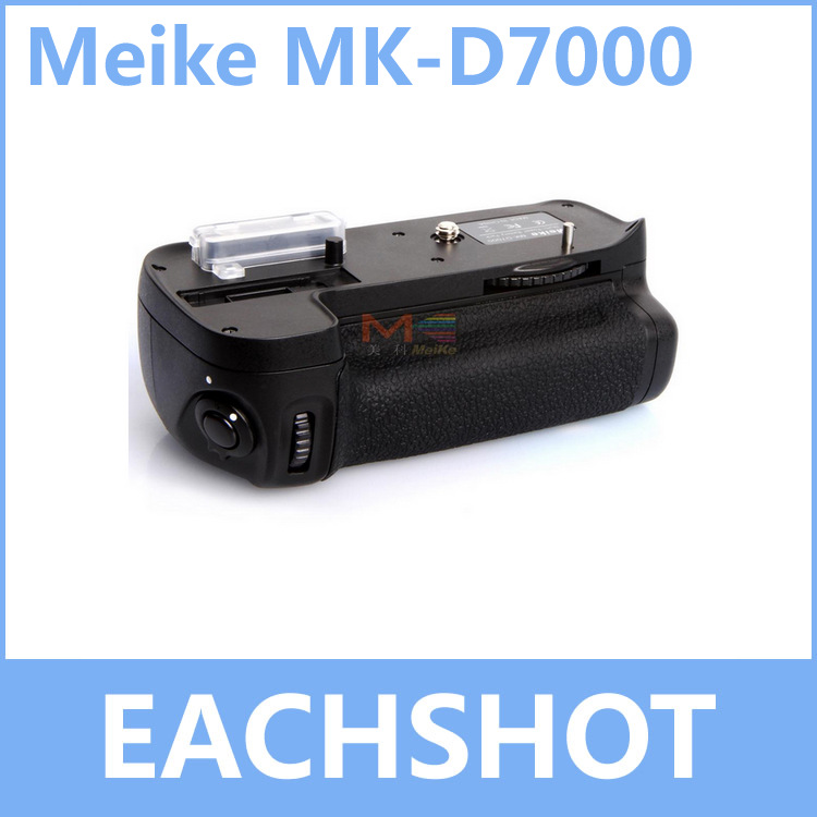 MeiKe MK-D7000, MB-D11 Battery Grip for Nikon D7000 d7000 rear back cover shell with lcd button fpc for nikon d7000 for nikon