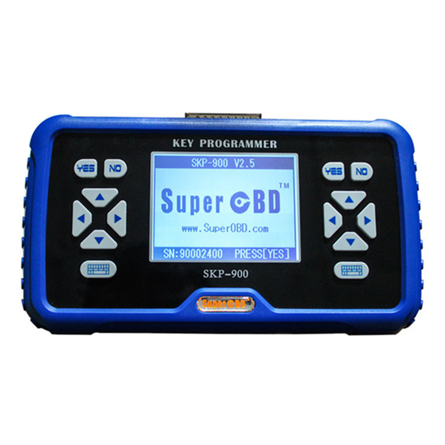 Keyecu SuperOBD SKP900 SKP 900 Hand held OBD2 Auto Key Programmer supports almost all cars in the world,