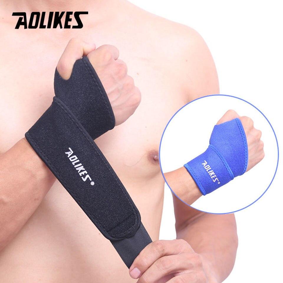 AOLIKES 1 Uds ajustable soporte de acero soporte de muñeca férula fracturas del túnel carpiano deporte esguince para peso protector de elevación