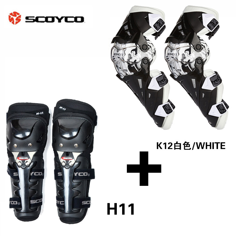Scoyco Brand New Motorcycle Knee Protectors Knee pad Elbow Protector Motocross Racing Guard Gear K12H11 цена