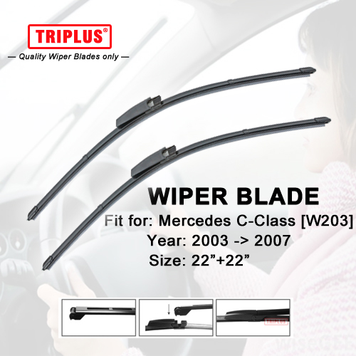 Wiper blade for mercedes benz c class w203 2003 2007 1 for Mercedes benz c300 wiper blades