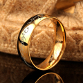 3 colors 2017 One Ring of Power Gold the Lord of Ring Lvers Women Men Fashion Jewelry finger wedding band fashion jewelry