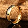 3 cores 2017 Um Anel do Poder de Ouro o Senhor dos Mulheres Homens Moda Jóias dedo anel Lvers aliança de casamento moda jóias