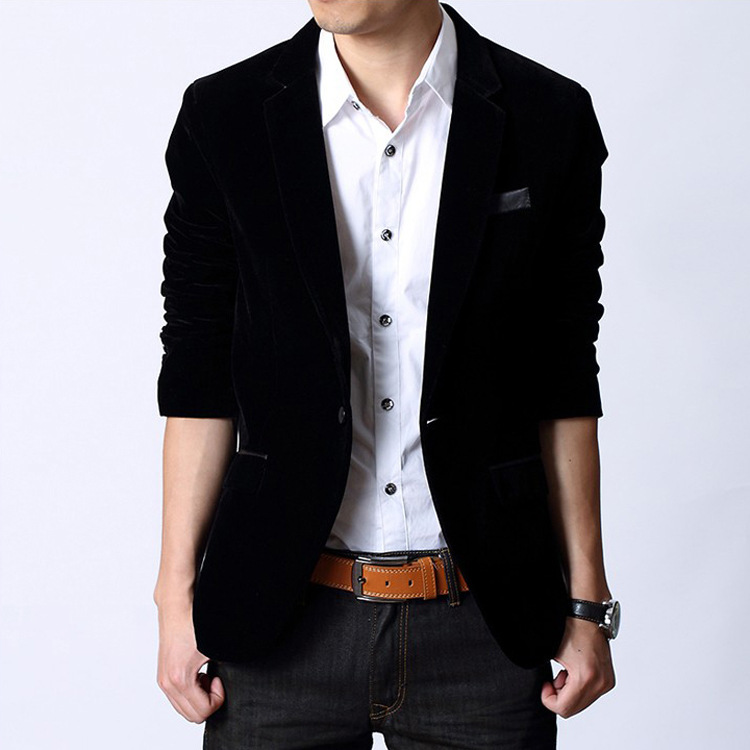 Popular Mens Velvet Blazers-Buy Cheap Mens Velvet Blazers Lots From China Mens Velvet Blazers ...