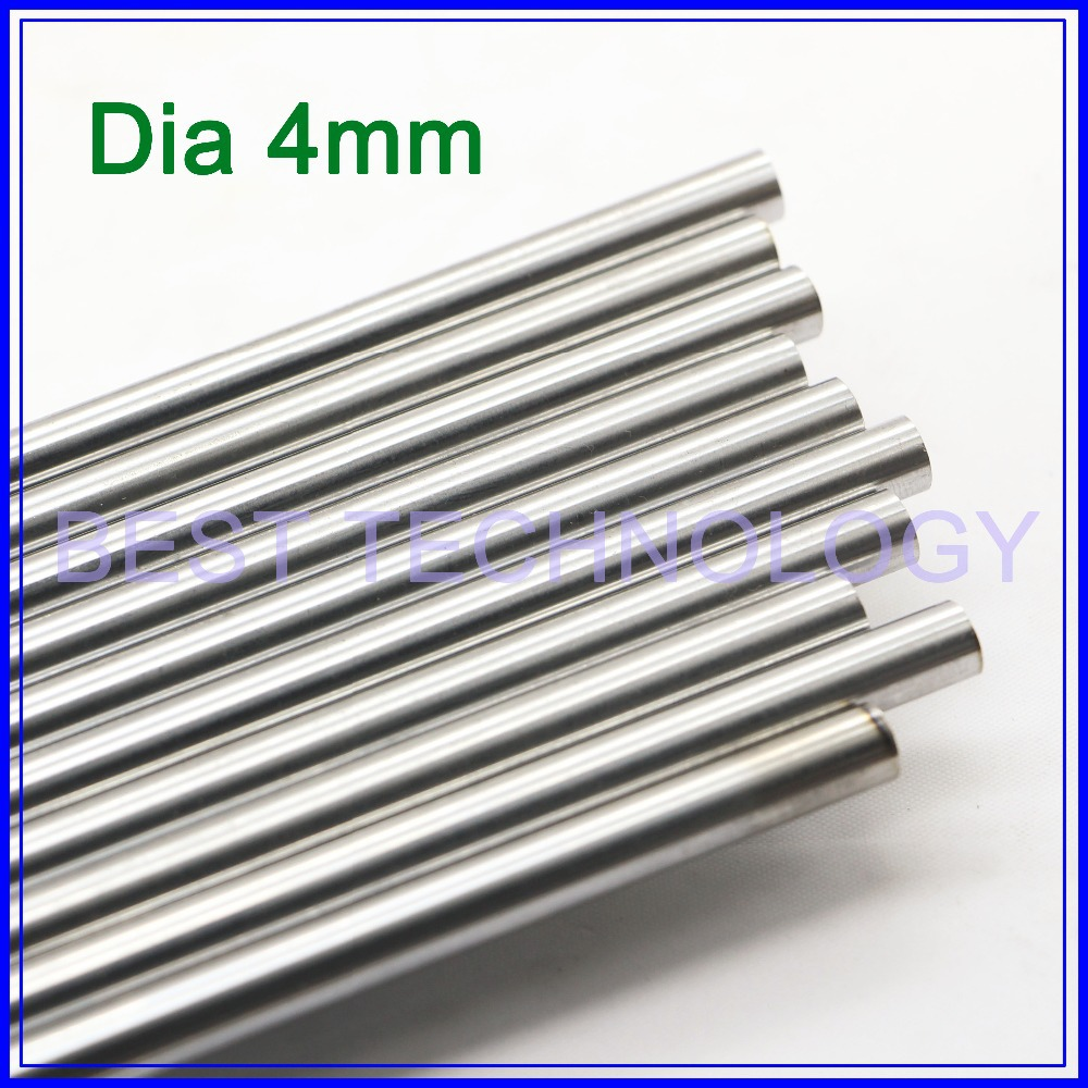 WCS Dia 4mm-L400mm Chrome Plated Cylinder Linear Rail Round Rod Shaft Linear Motion Shaft ,high quality!!!