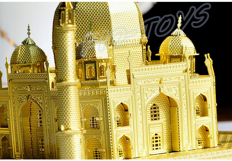 New Year Gift Taj Mahal 3D Metal Building Model Kit Alloy Frame Almost  Perfect Design Home Decoration Detail Smart Work Present In Model Building  Kits From ...
