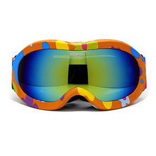 Children Ski Boys Girls Kids Ski Goggles Snowboard Ski Glasses Prevent mist Sunglasses Kid's Winter Skate Anti-UV Glasses