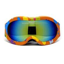 Children Ski Boys Girls Kids Ski Goggles Snowboard Ski Glasses Prevent mist Sunglasses Kid's Winter Skate Anti-UV Glasses