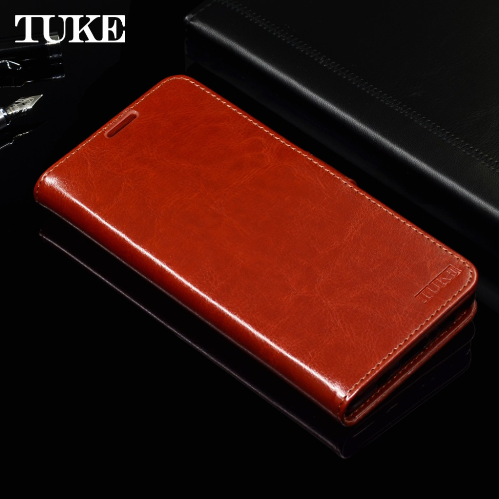 TUKE Case For Oukitel K5000 5.7 Luxury Leather Silicone Covers For Oukitel K5000 Cover Wallet Card Holder Coque