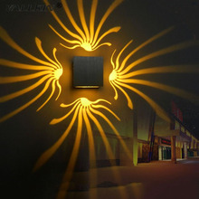VALLKIN Contemporary LED Wall Lamps Lights Lighting Fixtures For Home Hotel Bar,AC110-240V LED Wall Lights Colorful Lamps 3W