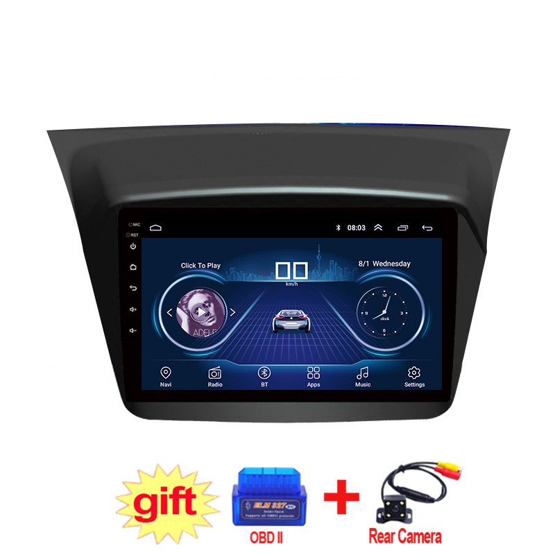 9inch IPS and 2.5D Touch Screen Android 8.1 Car DVD GPS Navigation for Mitsubishi Pajero Sport 2013-2018 Radio Audio Stereo