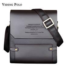408d081b92d4 VIDENG POLO Famous Brand Men Leather HandBag Casual Vintage Messenger Bag  Classic Business briefcase Man Crossbody Shoulder Bags