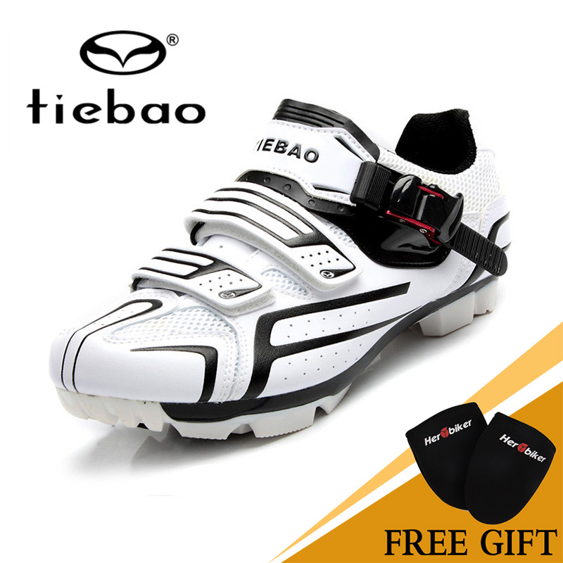 Tiebao Mountain Bicycle Bike Racing Shoes Unisex Outdoor Sport Self-Locking MTB Cycling Shoes Cycling Shoes TB15-B1268 mountain bike four perlin disc hubs 32 holes high quality lightweight flexible rotation bicycle hubs bzh002