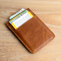 NewBring High Quality Genuine Leather Credit Card & ID Holders Business Card Wallet case bag Wallet Holder money