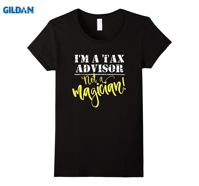 Возьмите советник налоговой рубашка не волшебник футболка Для женщин футболка ...
