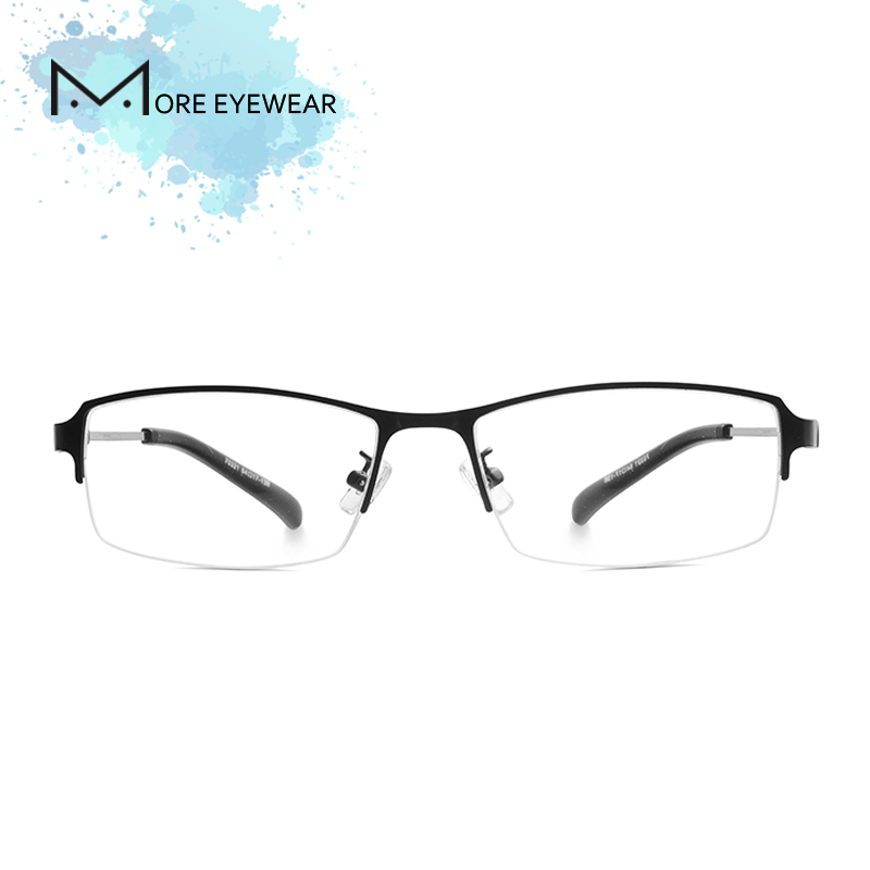 Alloy Man Glasses Frame Metal & TR90 Prescription glasses optical Male Frame Blue light blocking glasses Computer glasses