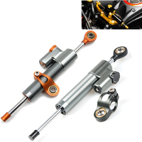 Motorcycle Damper Stabilizer Damper Steering Reversed Safety Control For Ducati Hypermotard 1100 796 821 939 EVO S SP STRADA