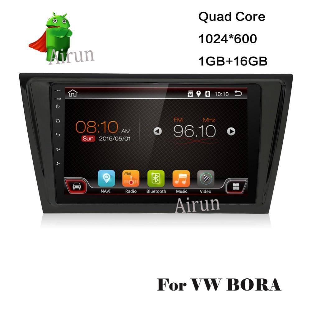 2din para VW BORA  Radio de Coche Doble del dinar 2 DVD Del Coche reproductor de
