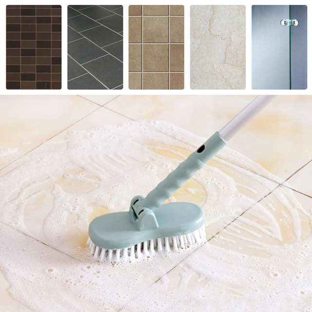 Delicieux 2018 Hot Sale New Cleaning Tools Floor Toilet Bath Long Handle Bristle  Brush Bathroom Tiles Cleaning